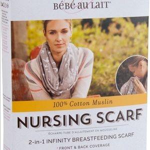 Infinity nursing scarf